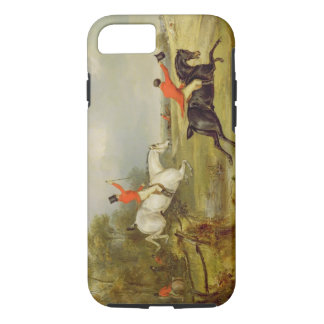 Breaking Cover, Bachelor's Hall (oil on canvas) iPhone 8/7 Case