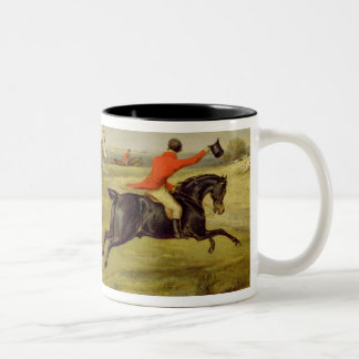 Breaking Cover, Bachelor's Hall (oil on canvas) Two-Tone Coffee Mug