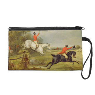 Breaking Cover, Bachelor's Hall (oil on canvas) Wristlet Purse