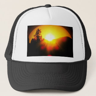 Breaking Dawn Orange Sunrise Trucker Hat