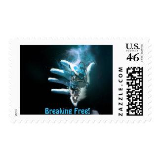 Breaking Free - 0 44 U S Postage Stamp