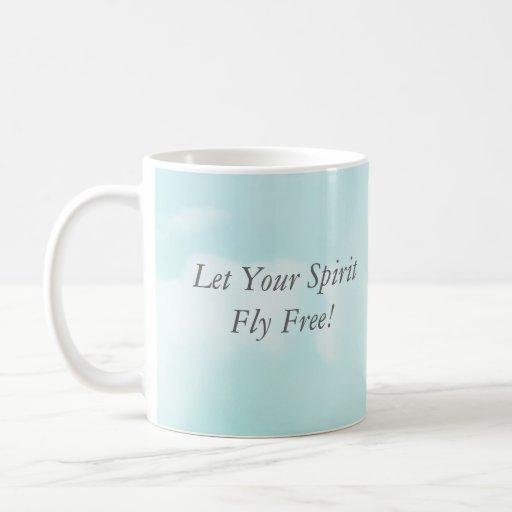 Breaking free, Let Your Spirit Fly Free! Mug