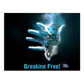 Breaking Free - Postcard