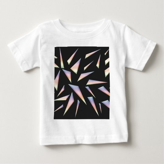 Breaking Glass Abstract Art Baby T-Shirt