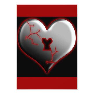 Breaking Heart Card