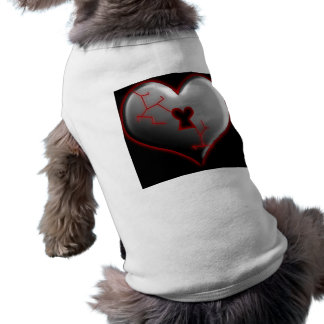 Breaking Heart Pet T Shirt