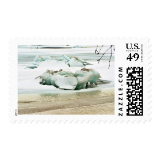 Breaking Ice Postage