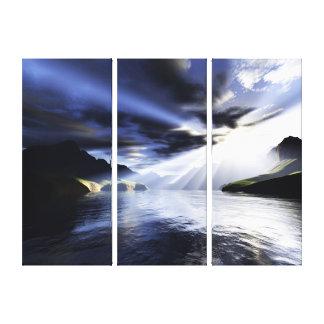 Breaking Light Gallery Wrap Canvas