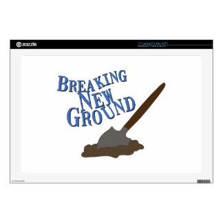 "Breaking New Ground 17"" Laptop Decals"
