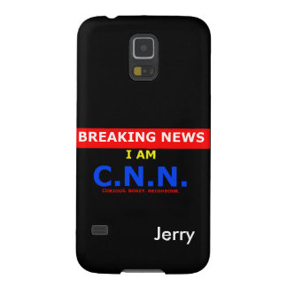 Breaking News: I am Curious Nosey Neighbour (UK) Galaxy S5 Cover