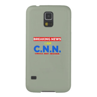Breaking News: I am Curious Nosy Neighbor (C.N.N.) Case For Galaxy S5