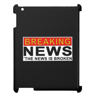 breaking news iPad case