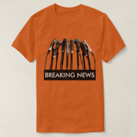 Breaking News Microphone Shirt