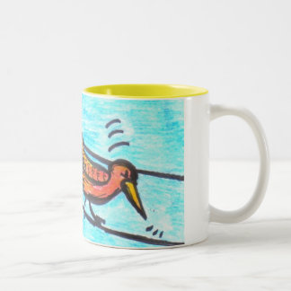 Breaking News! Two-Tone Coffee Mug