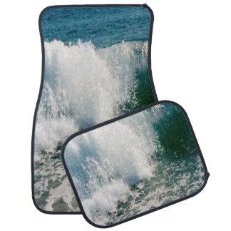 Breaking Ocean Wave Car Floor Mat