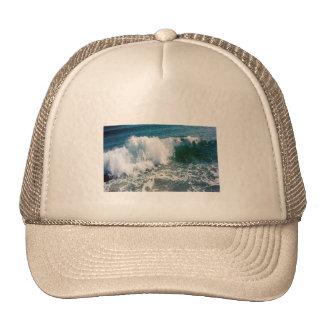 Breaking Ocean Wave Mesh Hat