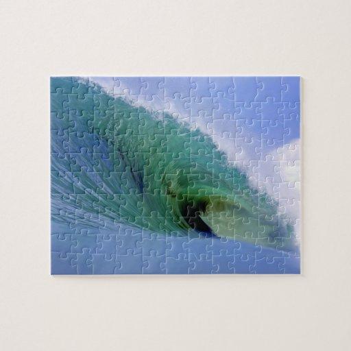 Breaking Ocean Wave Jigsaw Puzzle