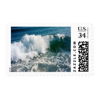 Breaking Ocean Wave Postage Stamps