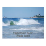 Breaking Ocean Wave Postcard