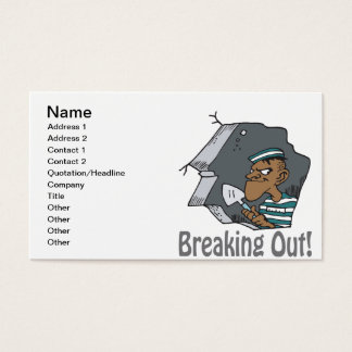 Breaking Out Business Card