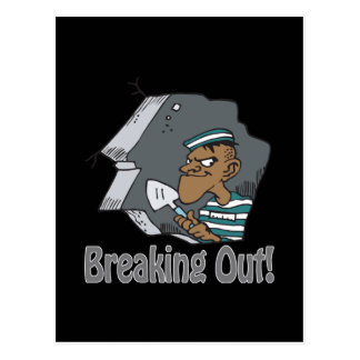 Breaking Out Postcard