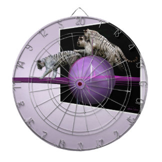 Breaking out White Tigers Dart Board
