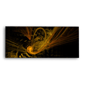 Breaking Point Abstract Art #10 Envelope