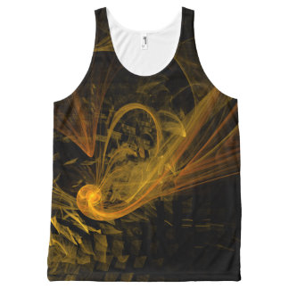 Breaking Point Abstract Art All-Over Print Tank Top