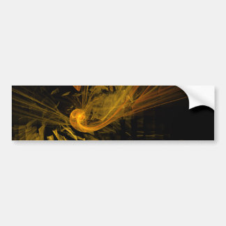 Breaking Point Abstract Art Bumper Sticker