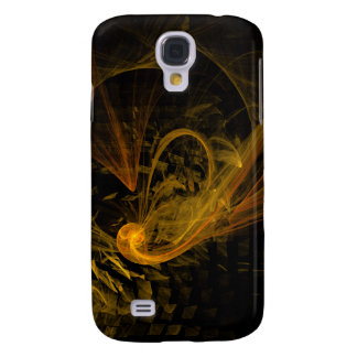 Breaking Point Abstract Art Galaxy S4 Cover