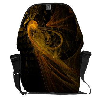 Breaking Point Abstract Art Large Bag Messenger Bag