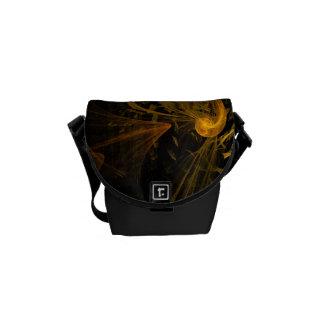 Breaking Point Abstract Art Mini Bag Messenger Bags