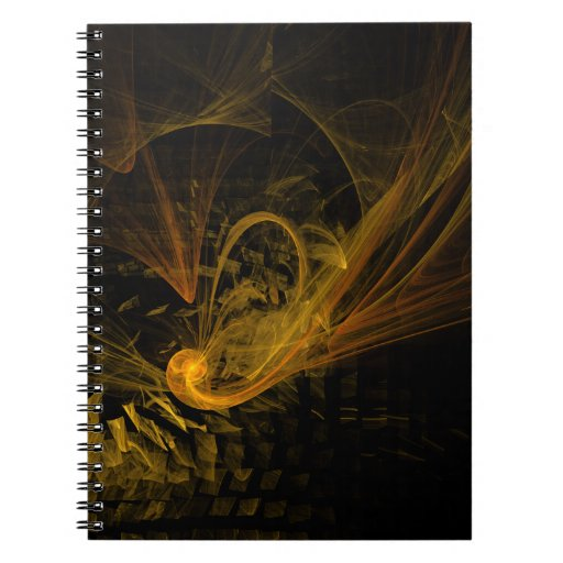 Breaking Point Abstract Art Notebook