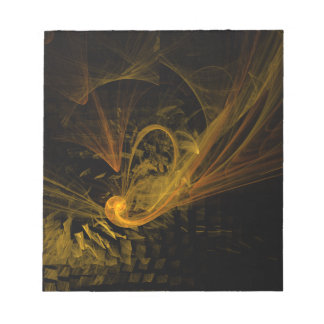 Breaking Point Abstract Art Notepad