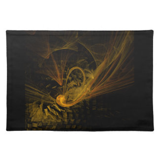Breaking Point Abstract Art Placemat