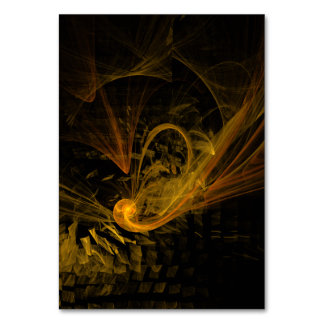 Breaking Point Abstract Art Table Card