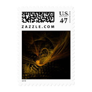 Breaking Point Abstract Postage Stamp