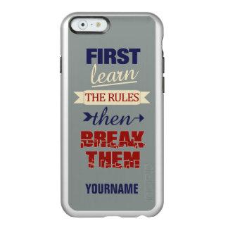 Breaking Rules custom phone cases Incipio Feather® Shine iPhone 6 Case