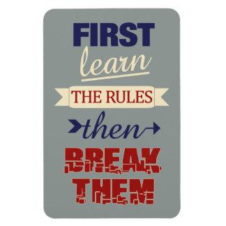 Breaking Rules magnet