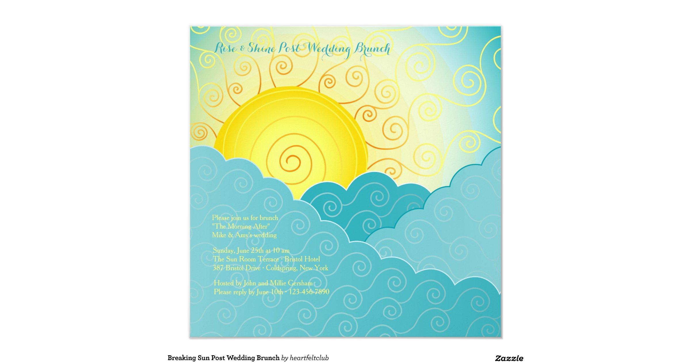 Breaking Sun Post Wedding Brunch Invitation Rf63856e6654044c38f3fd8b0340525f6 Zk9yv 1200