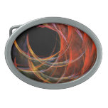 Breaking the Circle Abstract Art Belt Buckles