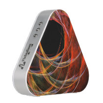 Breaking the Circle Abstract Art Bluetooth Speaker