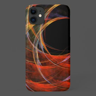 Breaking the Circle Abstract Art Case-Mate iPhone Case