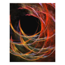 Breaking the Circle Abstract Art Flyer