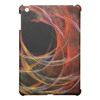 Breaking the Circle Abstract Art iPad Mini Cases