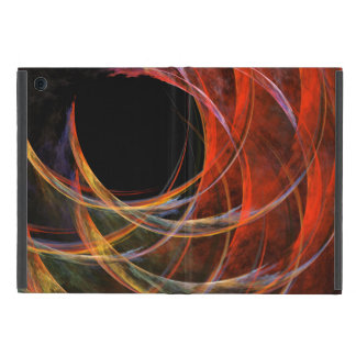 Breaking the Circle Abstract Art iPad Mini Cover