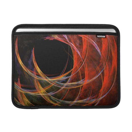 Breaking the Circle Abstract Art Macbook Air Sleeve For MacBook Air