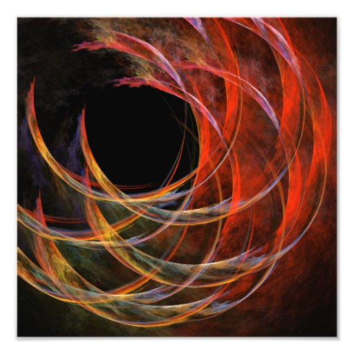 Breaking the Circle Abstract Art Photo Print