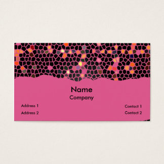 Breaking the Glass Ceiling Business Card