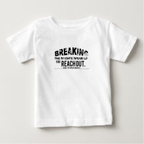 Breaking The Silence Suicide Prevention Awareness Baby T-Shirt
